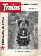 Trains Vol. 18 No. 10 Magazine