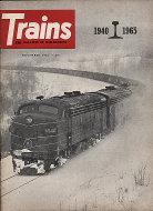 Trains Vol. 26 No. 1 Magazine
