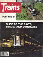 Trains Vol. 37 No. 8 Magazine