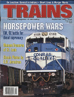Trains Vol. 56 No. 9 Magazine