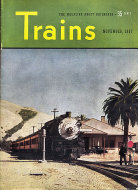 Trains Vol. 8 No. 1 Magazine