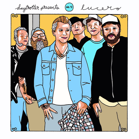 """Trampled by Turtles / Lucero Vinyl 12"""" (New) reverse side"""