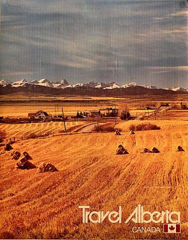 Travel Alberta Canada Poster