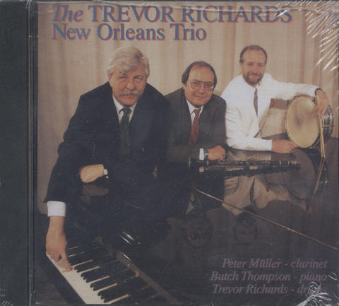 Trevor Richards New Orleans Trio CD