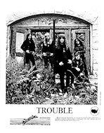 Trouble Promo Print