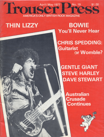 Trouser Press Issue 19