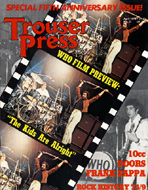 Trouser Press Issue 37 Magazine