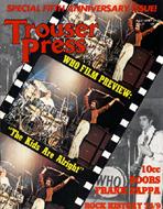 Trouser Press Issue 37 Magazine