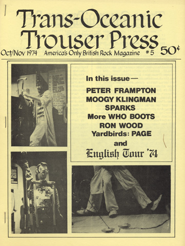 Trouser Press Issue 5