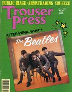 Trouser Press Issue 51 Magazine