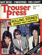 Trouser Press Issue 54 Magazine