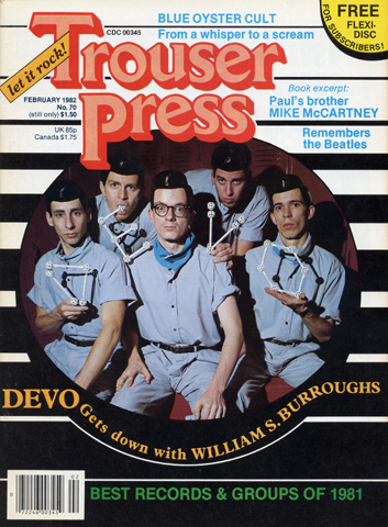 Trouser Press Issue 70