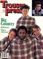 Trouser Press Issue 95 Magazine