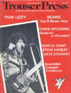 Trouser Press Magazine April 1977 Magazine