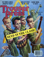 Trouser Press Magazine April 1981 Magazine