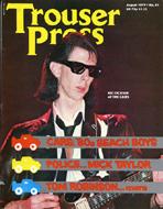 Trouser Press Magazine August 1979 Magazine