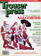 Trouser Press Magazine December 1983 Magazine