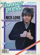 Trouser Press Magazine July 1982 Magazine