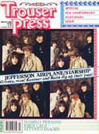 Trouser Press Magazine March 1982 Magazine