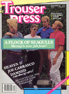 Trouser Press Magazine September 1983 Magazine
