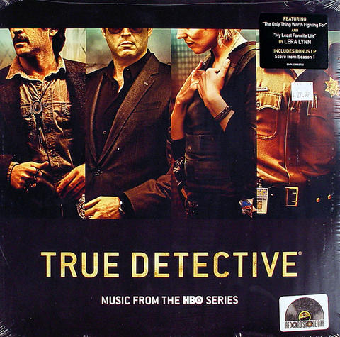 "True Detective Vinyl 12"" (New)"