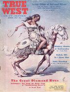 True West Magazine August 1957 Magazine