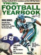 True's Football Yearbook 1972 Edition Magazine