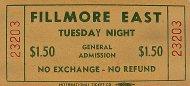 Tuesday Night Vintage Ticket