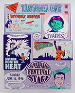 Tulsapalooza Comix Poster