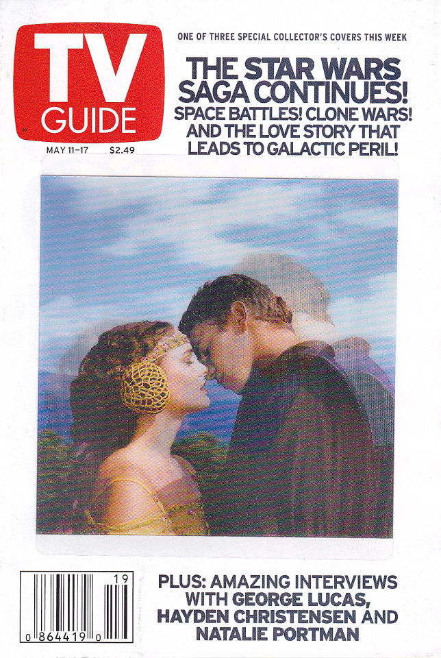 TV Guide  May 11,2002
