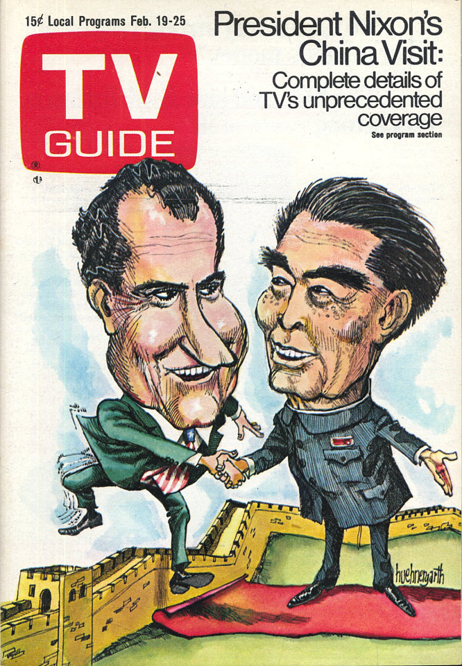 TV Guide Vol. 20 No. 8