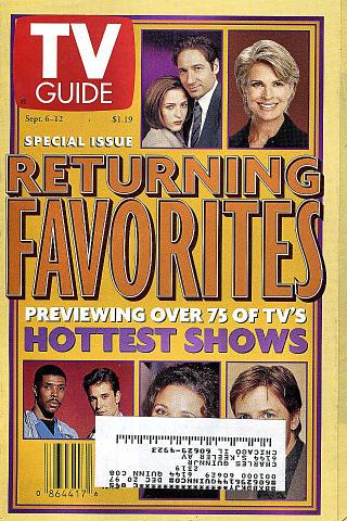 TV Guide Vol. 45 No. 36 Magazine