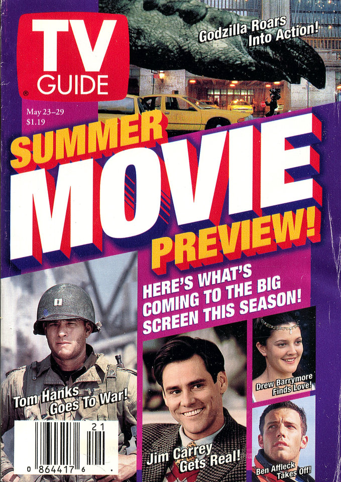 TV Guide Vol. 46 No. 21