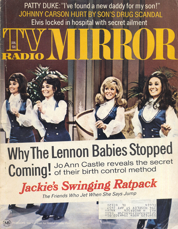 TV Radio Mirror Magazine January 1972