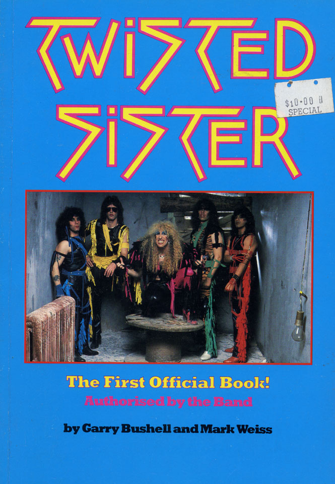 Twisted Sister: the First Official Book!