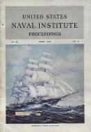 U.S. Naval Institute Proceedings Vol. 82 No. 4 Magazine
