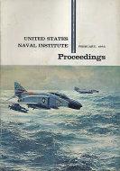 U.S. Naval Institute Proceedings Vol. 91 No. 2 Magazine