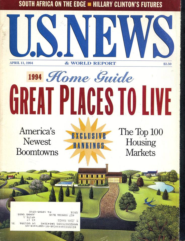 U.S. News & World Report Apr 11,1994