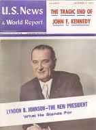 U.S. News & World Report Dec 2,1963 Magazine