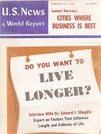U.S. News & World Report Feb 14,1958 Magazine