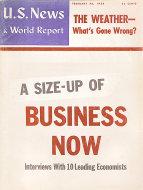 U.S. News & World Report Feb 28,1958 Magazine