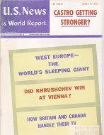 U.S. News & World Report Jun 19,1961 Magazine