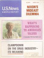 U.S. News & World Report Jun 24,1974 Magazine
