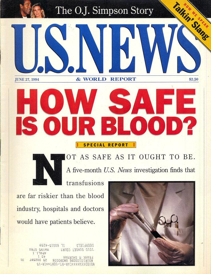 U.S. News & World Report Jun 27,1994