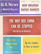 U.S. News & World Report Mar 21,1966 Magazine