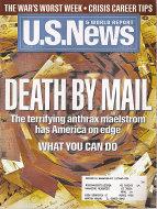 U.S. News & World Report Nov 5,2001 Magazine