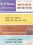 U.S. News & World Report Oct 29,1962 Magazine