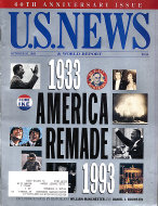 U.S. News & World Report October 25, 1993 Magazine