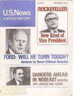 U.S. News & World Report Sep 2,1974 Magazine