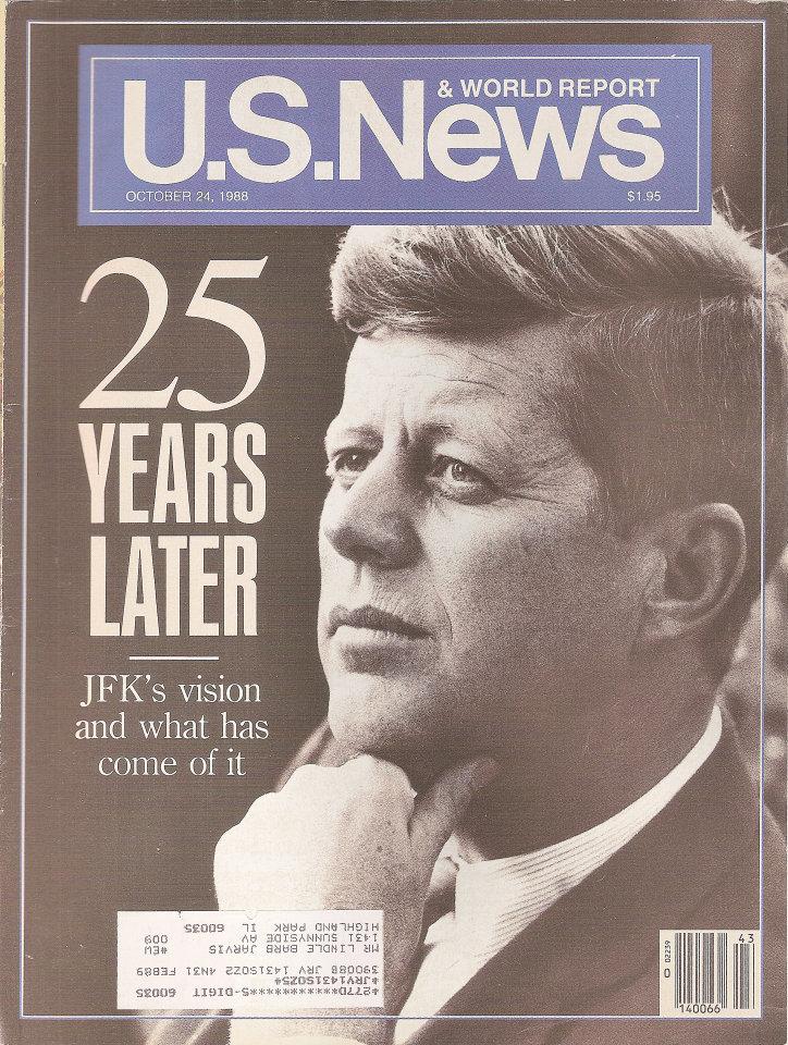 U.S. News & World Report Vol. 105 No. 16